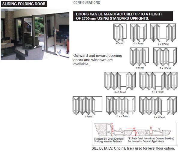 Aluminium Doors Folding Aluminium Doors South Africa