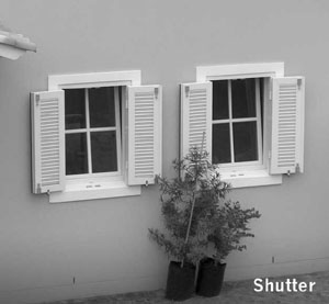 upvc window shutters